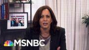 The American People Didn't Need To Suffer: Harris Slams Trump For 'No Plan' On Coronavirus   MSNBC 3