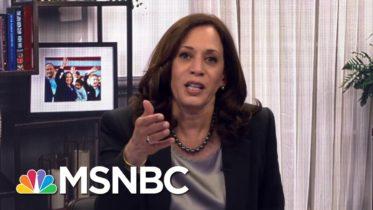 Full Interview: Senator Kamala Harris, Democratic V.P. Nominee, Talks With Rachel Maddow | MSNBC 6