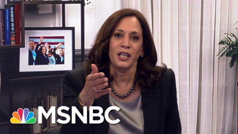 Full Interview: Senator Kamala Harris, Democratic V.P. Nominee, Talks With Rachel Maddow | MSNBC 1