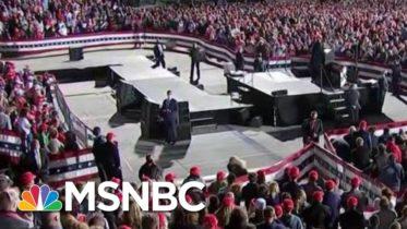 President Donald Trump Holds Packed Iowa Rally Despite WH Advisory | Morning Joe | MSNBC 6