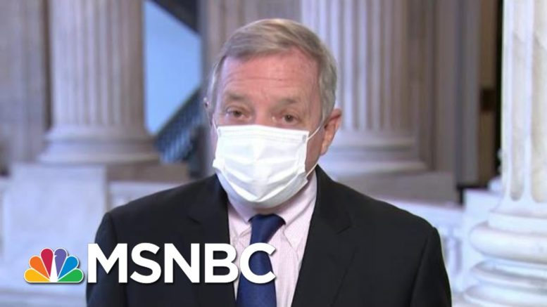 Sen. Durbin: Trump Has A Political Agenda With SCOTUS Pick | Morning Joe | MSNBC 1