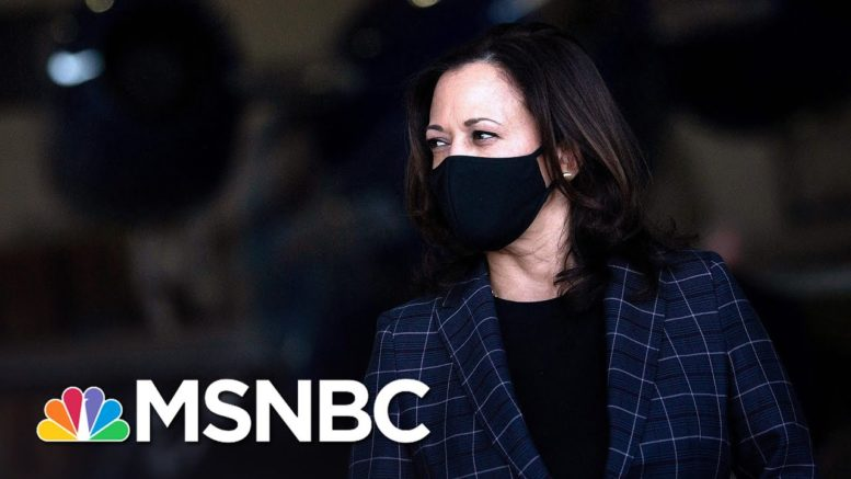 Campaign Cancels Kamala Harris Events After Aide Tests Positive For Covid   Stephanie Ruhle   MSNBC 1