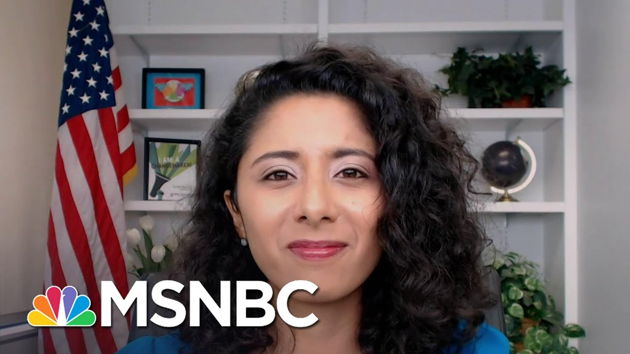 Harris County, TX Judge Lina Hidalgo On The 'Collective Anxiety' She's Hearing From Voters   MSNBC 1