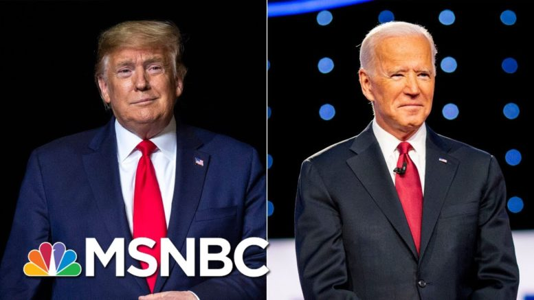 NBC News / WSJ Poll: Biden Leads Trump By 11 Points | MTP Daily | MSNBC 1