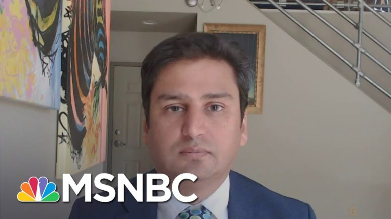 Dr. Amesh Adalja: 'I Don't Think We Ever Got Over The First Wave' | Andrea Mitchell | MSNBC 1