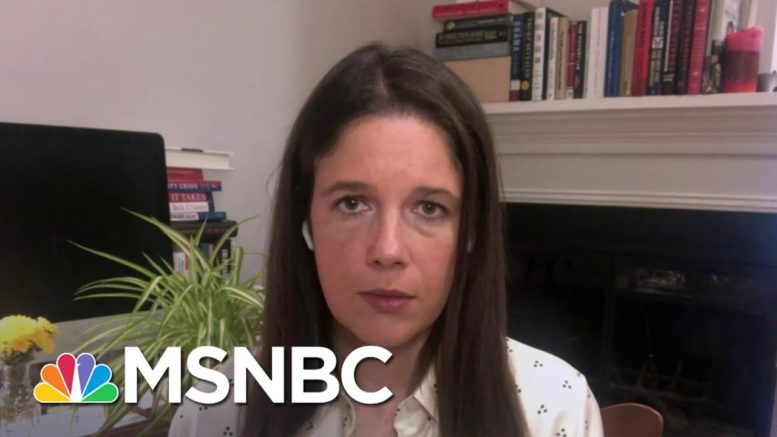 Ashley Parker: 'This Is A Campaign And A WH That Is Intentionally Modeling Bad Behavior' | MSNBC 1