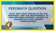TVJ News: Feedback Question - October 14 2020 5