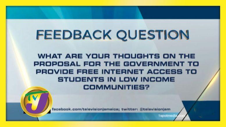TVJ News: Feedback Question - October 14 2020 1