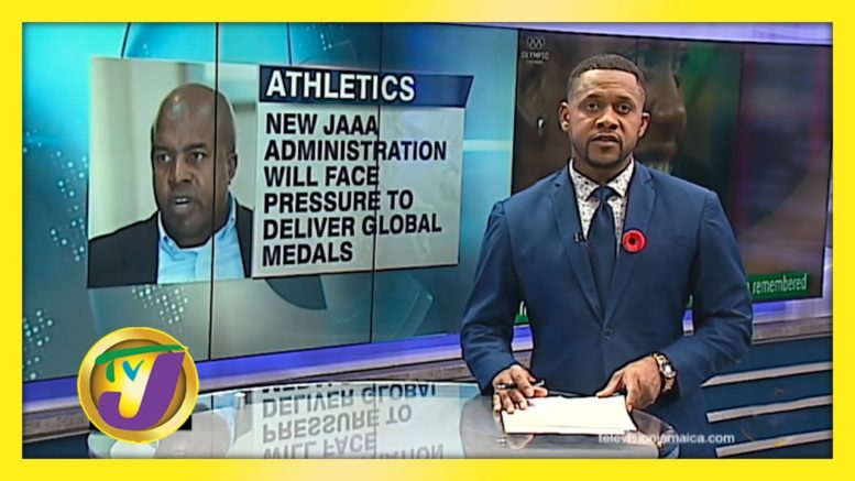 New JAAA Team will Face Pressure to Deliver Global Medals - October 14 2020 1