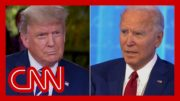 Fact Check: Trump and Biden hold dueling town halls 2