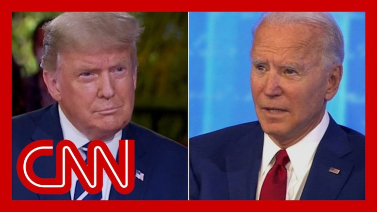 Fact Check: Trump and Biden hold dueling town halls 1