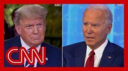 CNN reporter fact-checks dueling town halls in 3 minutes 4