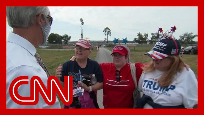 QAnon and Trump: Hear what his supporters think 1