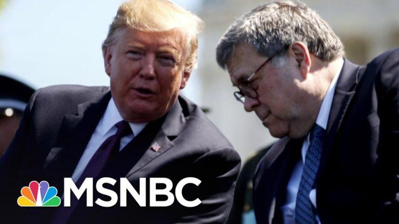 Halpern Leaves Justice Dept. Over Barr's 'Slavish Obedience' To Trump | The Last Word | MSNBC 1