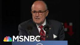 Did Giuliani Get Bogus Hunter Biden Dirt In A Russian Intel Op? | The 11th Hour | MSNBC 7