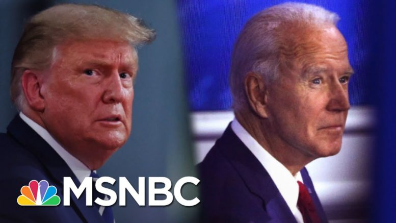 Combative Trump And Measured Biden At Dueling Town Halls | The 11th Hour | MSNBC 1