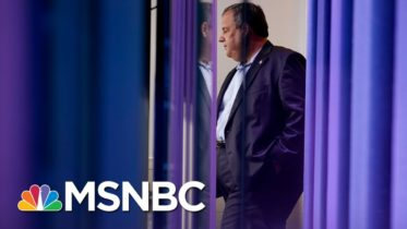 Chris Christie Speaks Out About Not Wearing A Mask | Morning Joe | MSNBC 6
