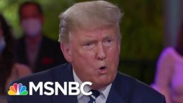 Trump, Biden Paint Very Different Economic Pictures In Town Halls   Stephanie Ruhle   MSNBC 5
