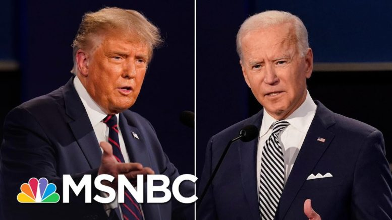 Final Presidential Debate Topics Released, Include Race, Climate Change | MSNBC 1