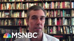 Beto O'Rourke: Texas Voting Surge 'A Good Sign For Texas Democrats'   Katy Tur   MSNBC 3
