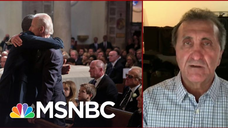 Pete Souza Says That Every Emotion Obama Felt, 'I Experienced It With Him' | Deadline | MSNBC 1