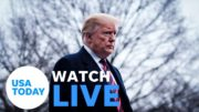 President Donald Trump is reportedly headed to Walter Reed hospital (LIVE) | USA TODAY 5