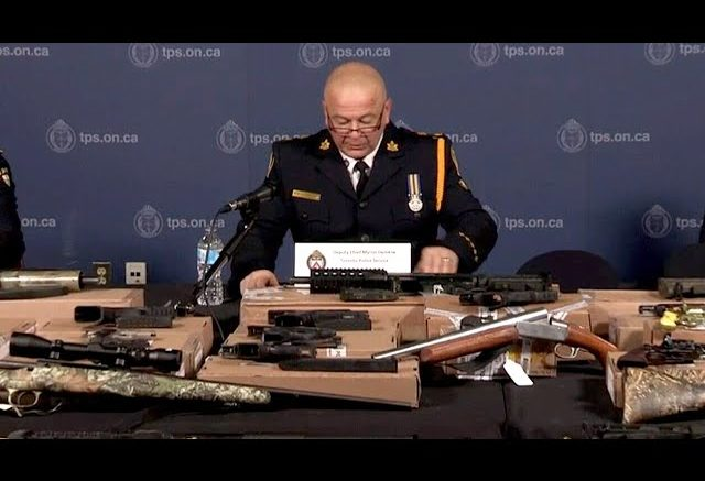 Police give details on $150 million gun, drug bust in Toronto area 1