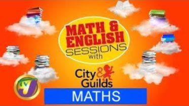 City and Guild - Mathematics & English - November 9, 2020 6