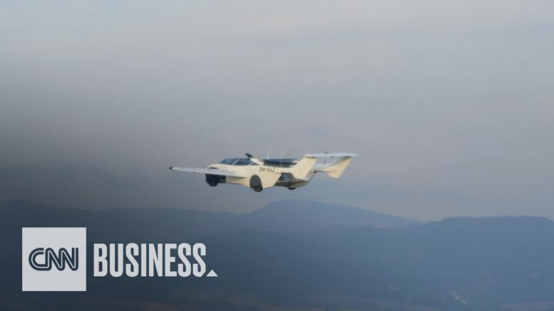 Flying car completes its first flight, company says 1