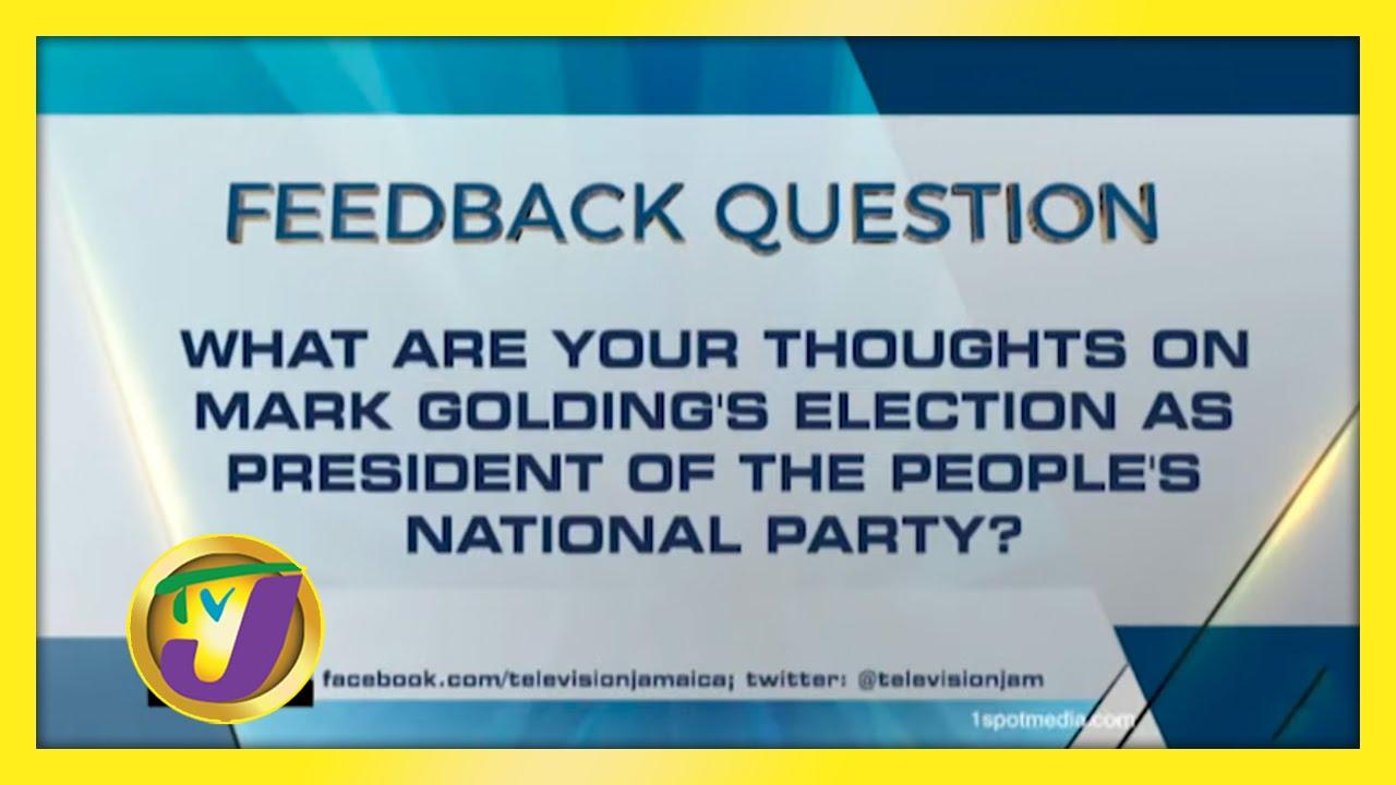 TVJ News: Feedback Question - November 12 2020 2