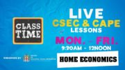 CSEC Home Economics 10:35AM-11:10AM | Educating a Nation - November 13 2020 3