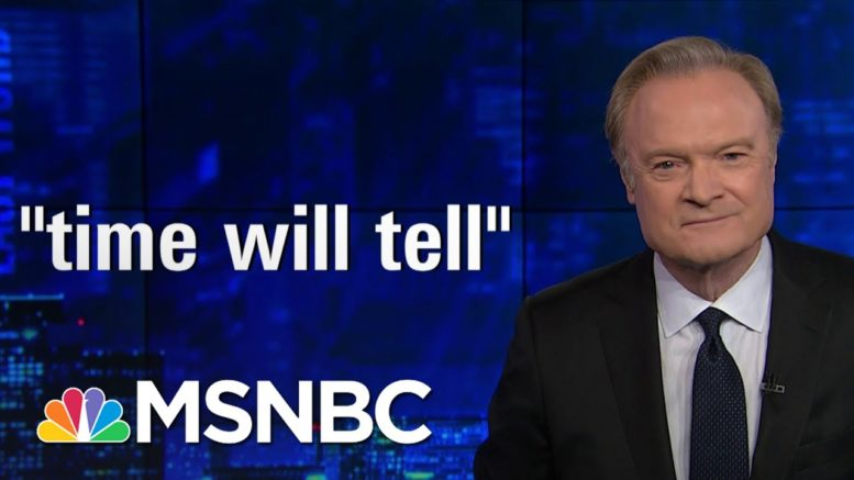 Lawrence: 'It's All Over' For William Barr & Donald Trump | The Last Word | MSNBC 1