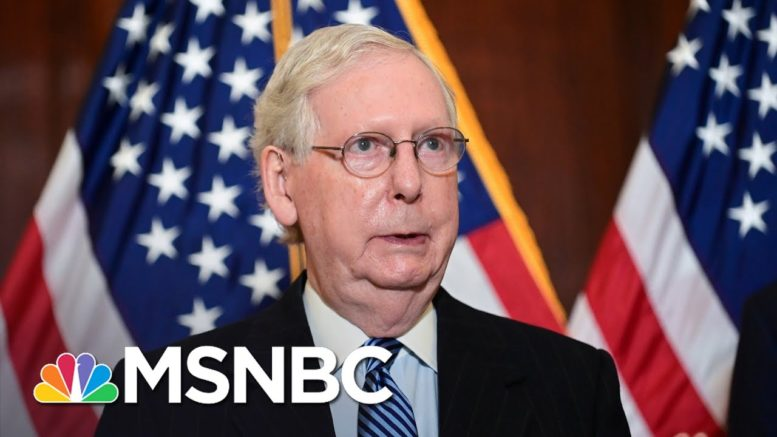 Biden Camp Hopes To Get Past Republican Fear Of Trump, McConnell Stonewalling | Rachel Maddow 1