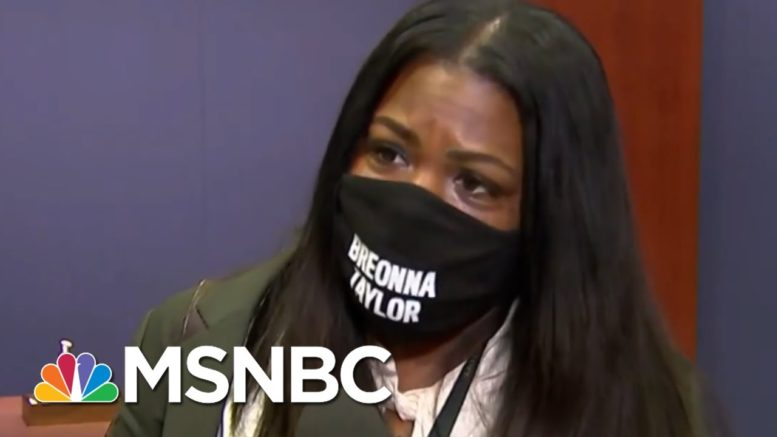 Breonna Taylor Protests Didn't Reach Some Corners Of Congress, New Congresswoman Finds | MSNBC 1
