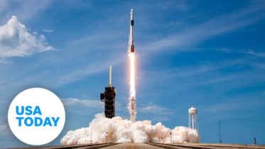 NASA AND SPACEX LAUNCH CREW DRAGON | USA TODAY 6