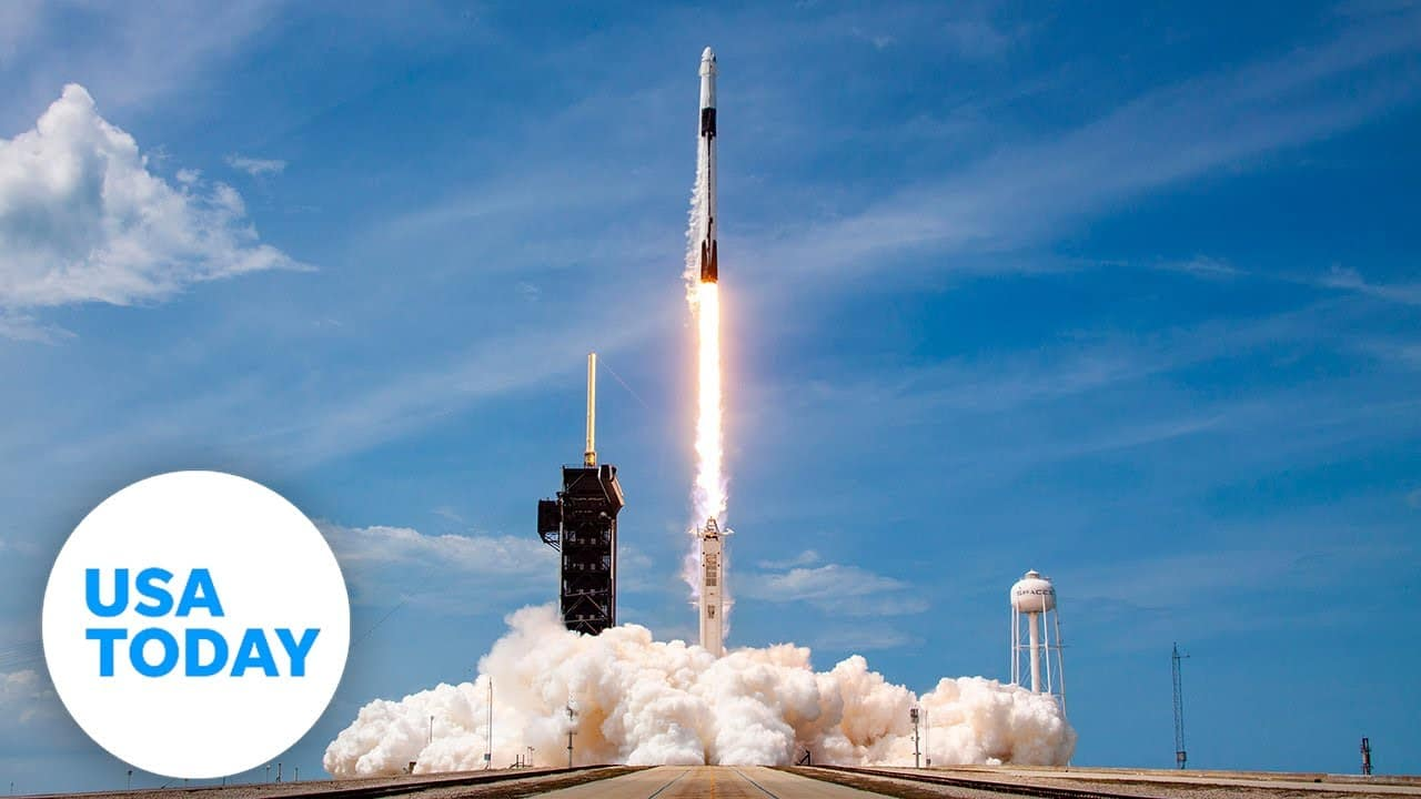 NASA AND SPACEX LAUNCH CREW DRAGON   USA TODAY 5