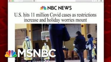 U.S. Records More Than 11 Million Covid-19 Cases | Morning Joe | MSNBC 6
