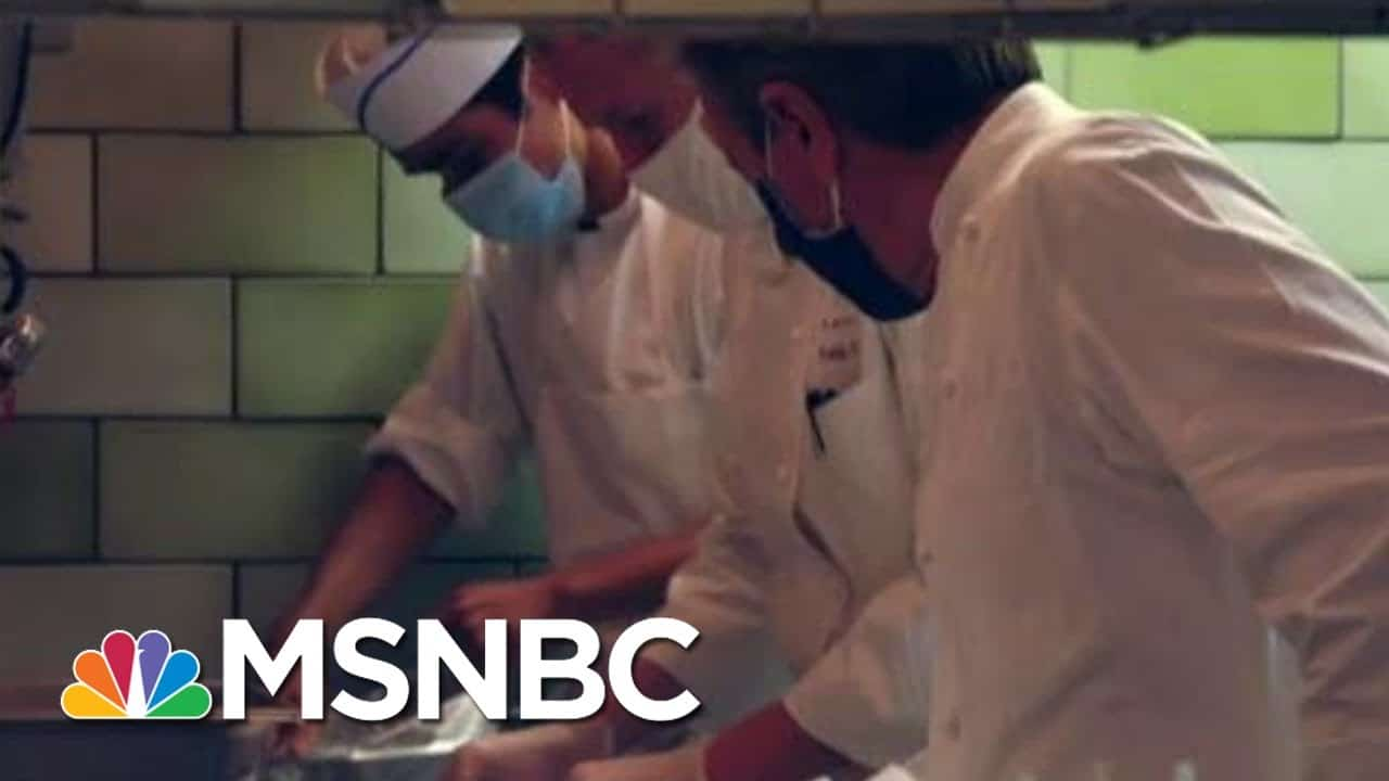 NYC Restaurants Struggle To Stay Afloat During Pandemic   Morning Joe   MSNBC 1