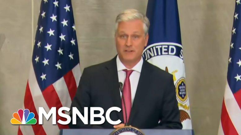 NSA Director O'Brien Promises Peaceful Transition Of Power | Hallie Jackson | MSNBC 1