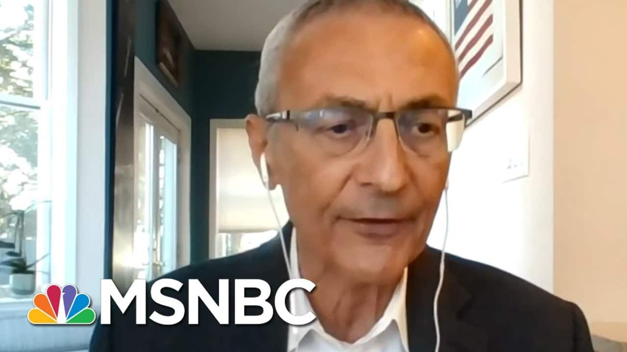 Podesta: Biden Transition Team 'Hobbled' As Trump Refuses To Concede   MTP Daily   MSNBC 5