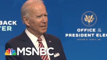 Biden Warns 'More People May Die' If Trump Does Not Coordinate With Transition | MSNBC 6