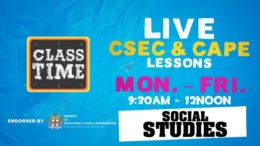 CSEC Social Studies 9:45AM-10:25AM | Educating a Nation -  November 16 2020 7
