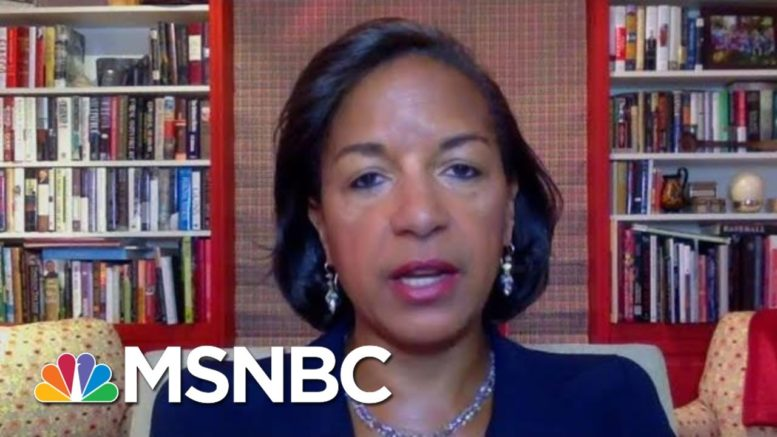 Susan Rice: Americans Will Decide The Election, Not Trump | Morning Joe | MSNBC 1