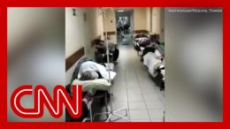 Video shows inside Russian hospitals amid overcrowded conditions 3