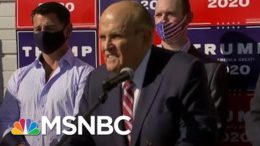 As Lawyers Flee, Trump's Floundering Legal Quest Falls To Familiar Hands | Rachel Maddow | MSNBC 3