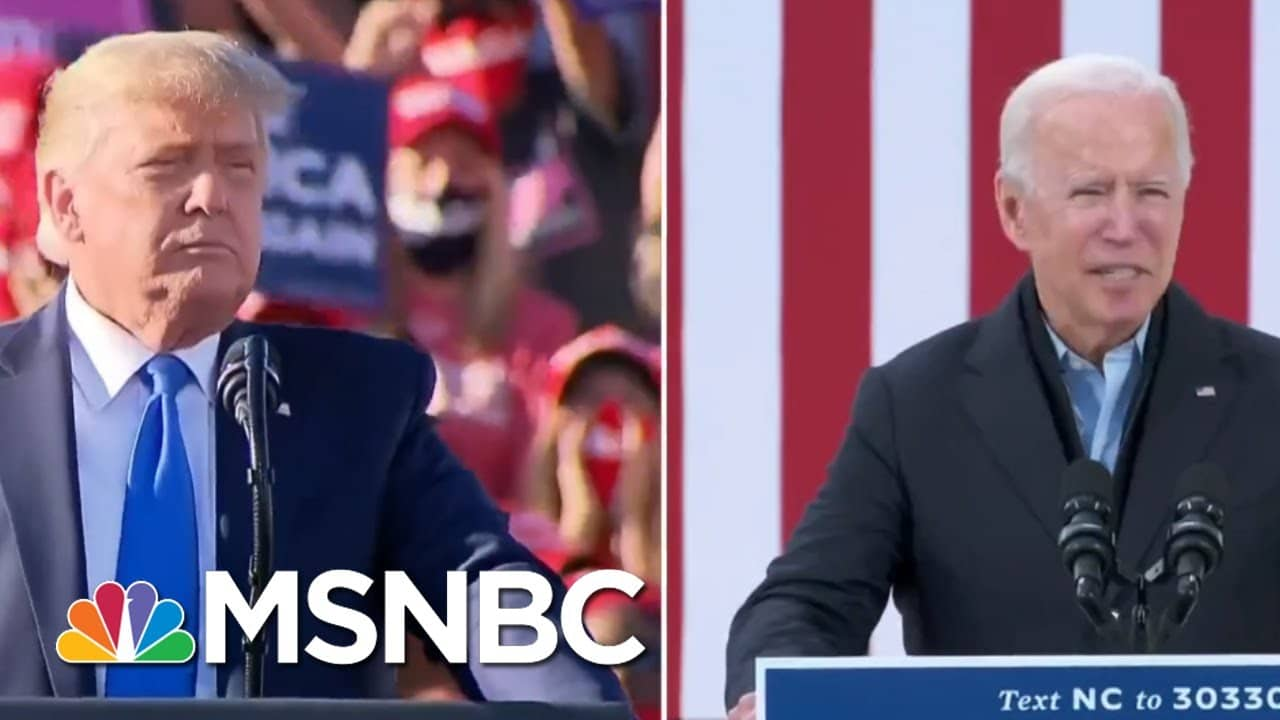 A Closer Look At PA, WI, MI Ahead Of Election Day | Craig Melvin | MSNBC 1
