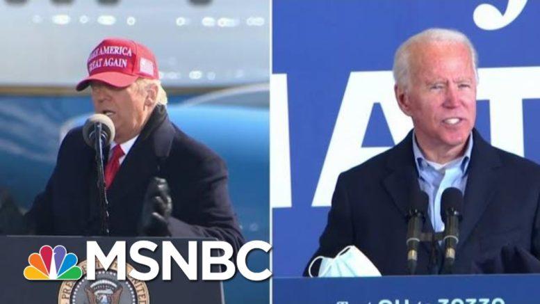 NBC News / Marist Poll: Biden Up 5 Points In Pennsylvania, Tied In Arizona | MTP Daily | MSNBC 1