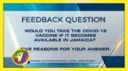 TVJ News: Feedback Question - November 16 2020 5