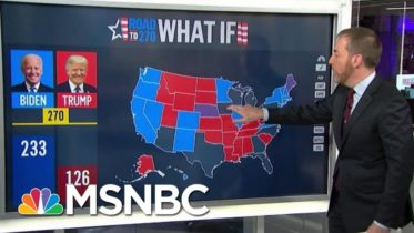Chuck: If Biden 'Doesn't Get A Single Sun Belt' State Then We're 'Waiting On Pa' | MTP Daily | MSNBC 6