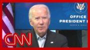 Biden gets emotional hearing nurse's story 4
